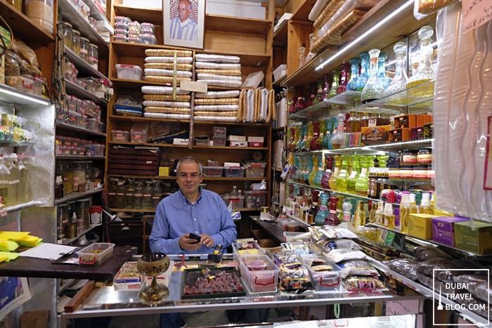 shop owner in fez medina