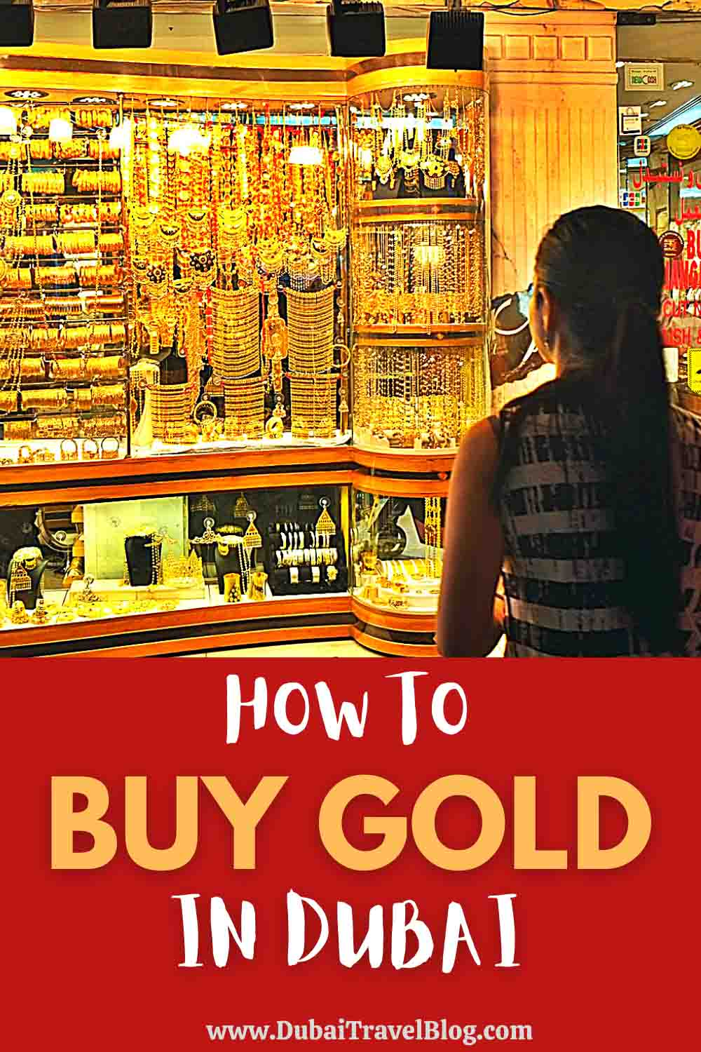 How to buy gold in Dubai