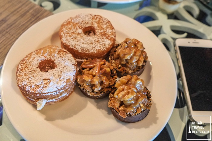 cronuts and desserts at sofitel abu dhabi