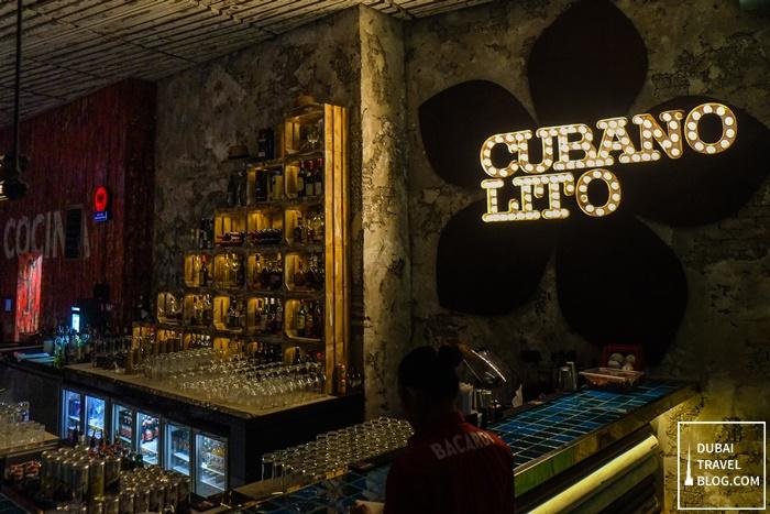 cubano lito cuban bar dubai