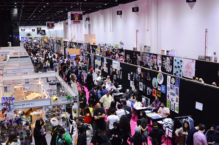 middle east film and comic con dubai