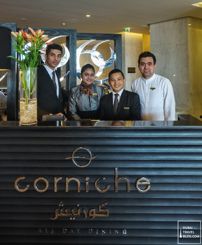 sofitel abu dhabi corniche restaurant staff