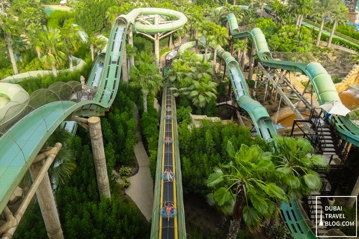 water tube slides aquaventure dubai