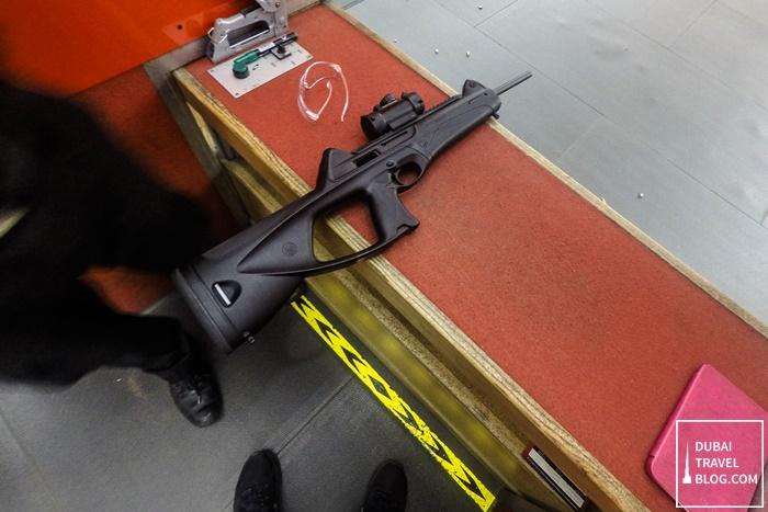 sharjah shooting club rifle