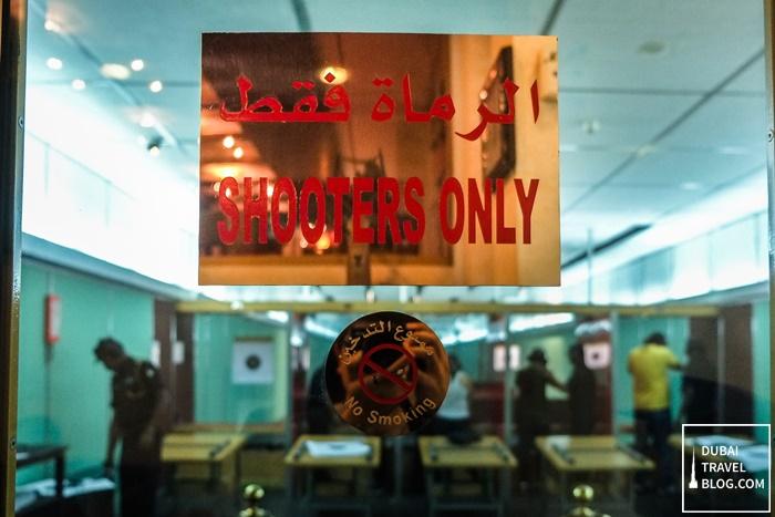 shooting area sharjah shooting club uae