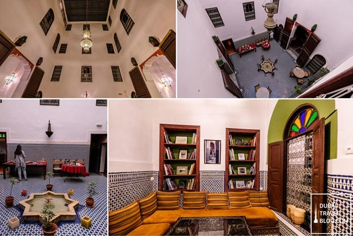 riad dar tafilalet hotel in fez morocco
