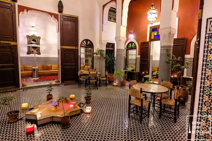 riad tafilalet hotel fez morocco