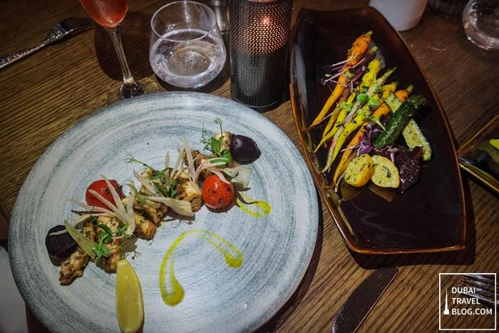 RARE dinner at desert palm dubai