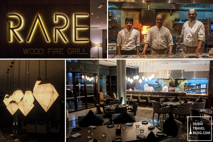 RARE wood fire grill restaurant dubai