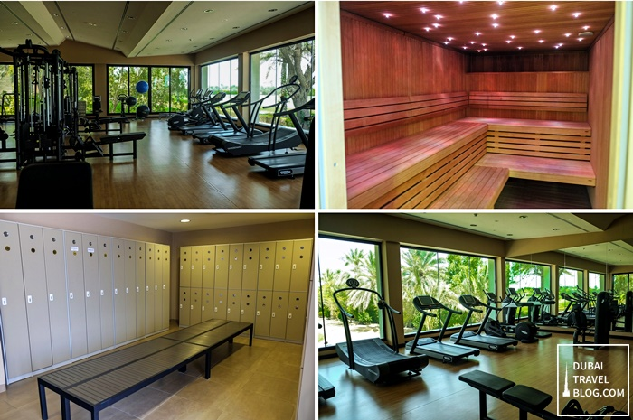 fitness center desert palm per aquum