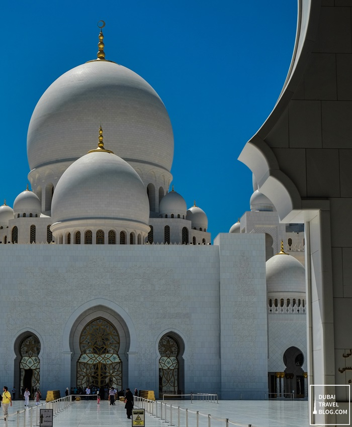abu dhabi grand mosque photowalk