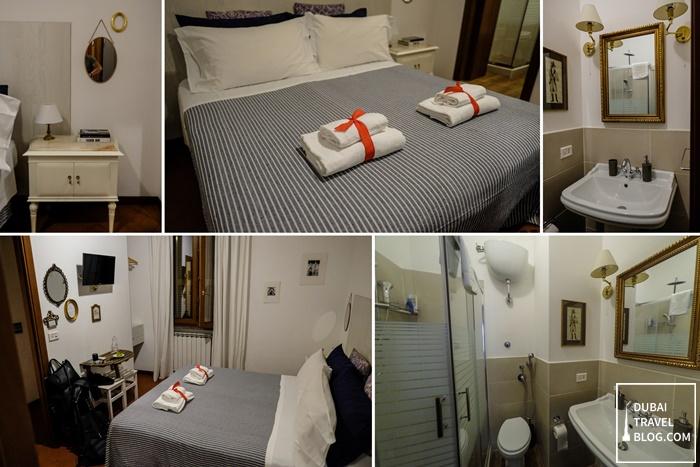 al ponte del papa bedroom rome italy