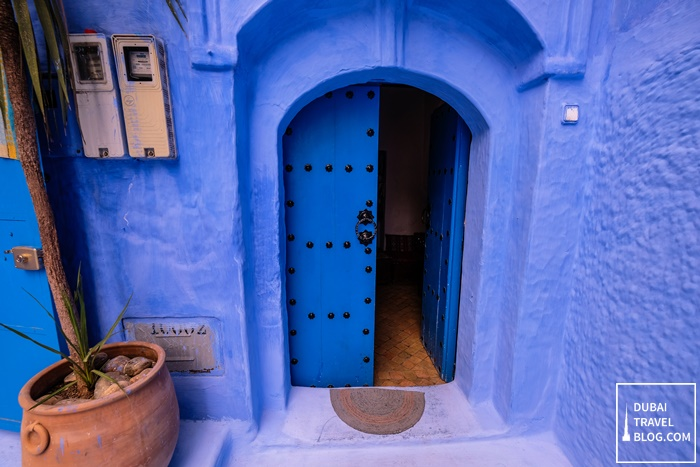 blue door chaouen