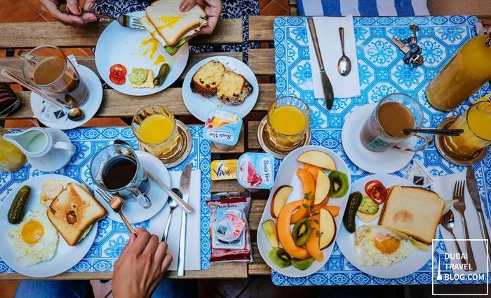 breakfast rome italy al ponte del papa
