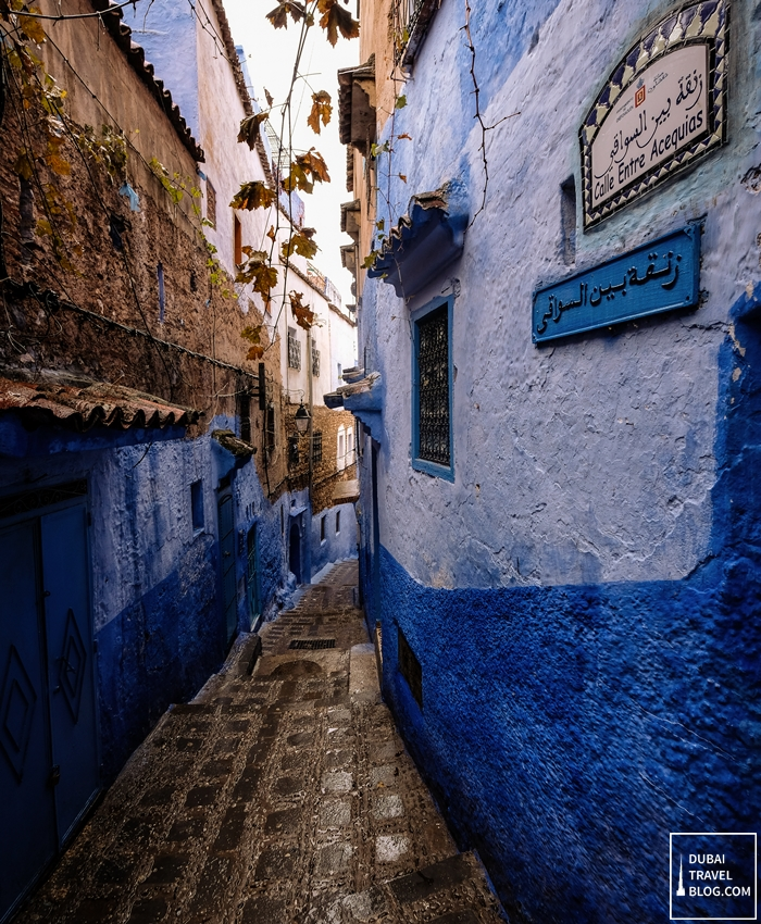 narrow pathways chefchaouen