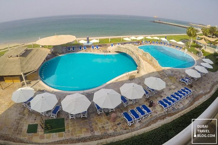 pool area radisson fujairah