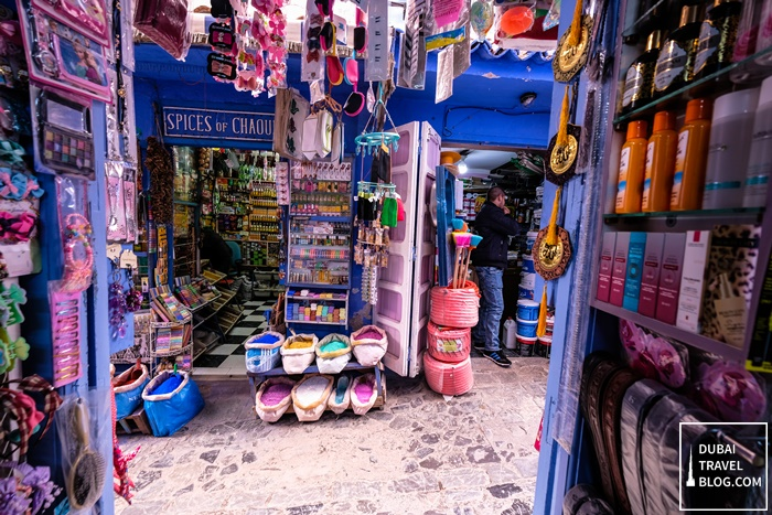 small store chefchaouen