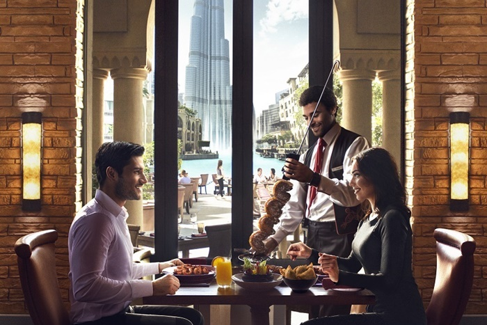 al dresco dining palace downtown dubai