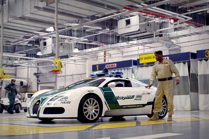 dubai police cars fastest
