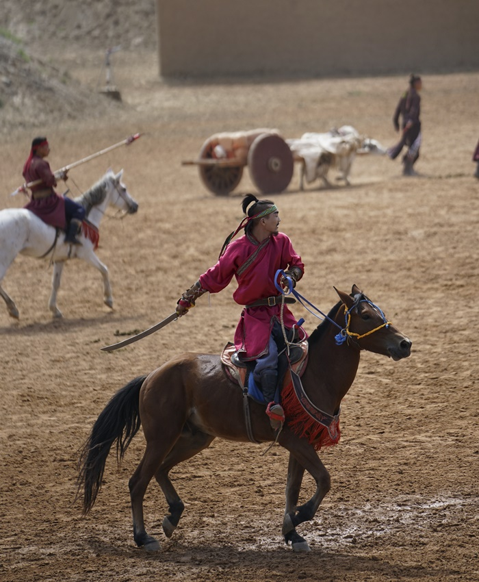 grand epic horse stunt show