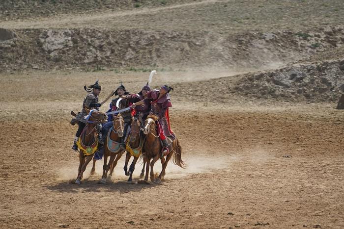 grandly epic war horse original show china