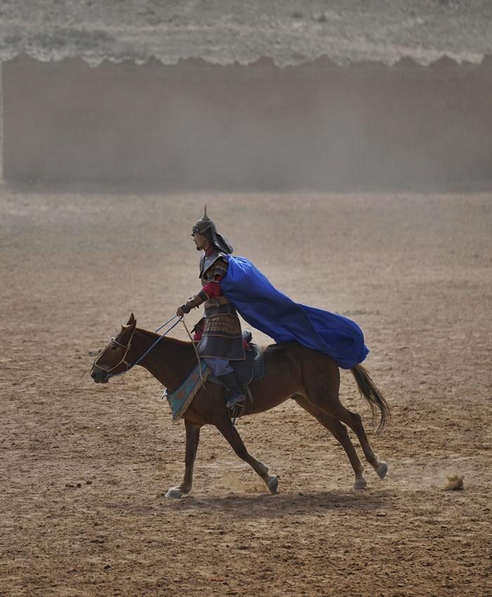 horse stunts china