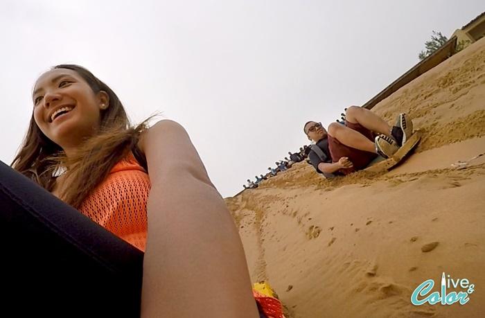 sand slide adventure ningxia