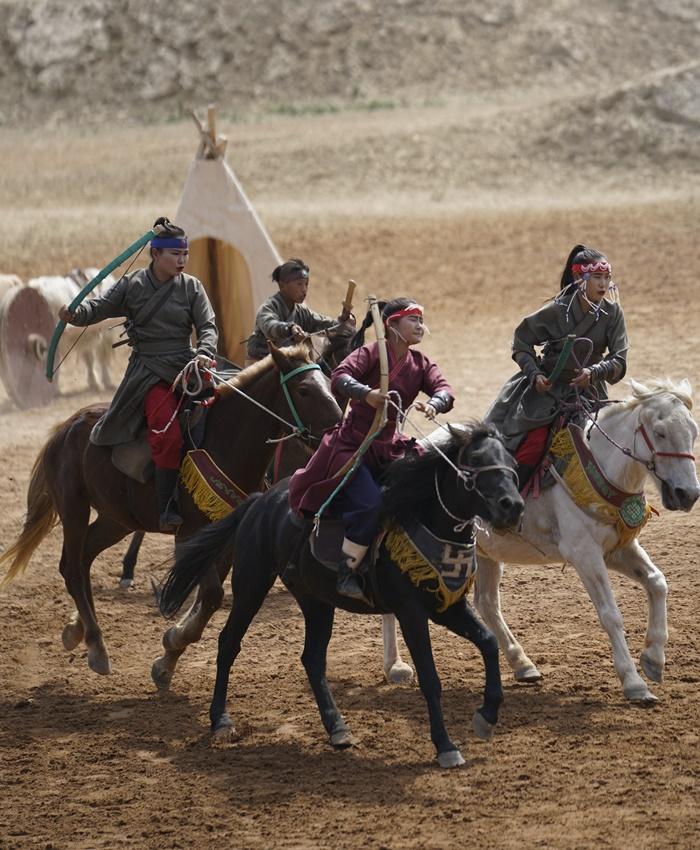 war horse show ningxia china