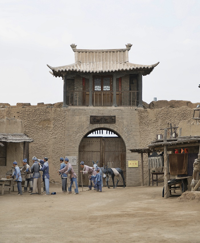 zhenbeibao west movie city yinchuan ningxia