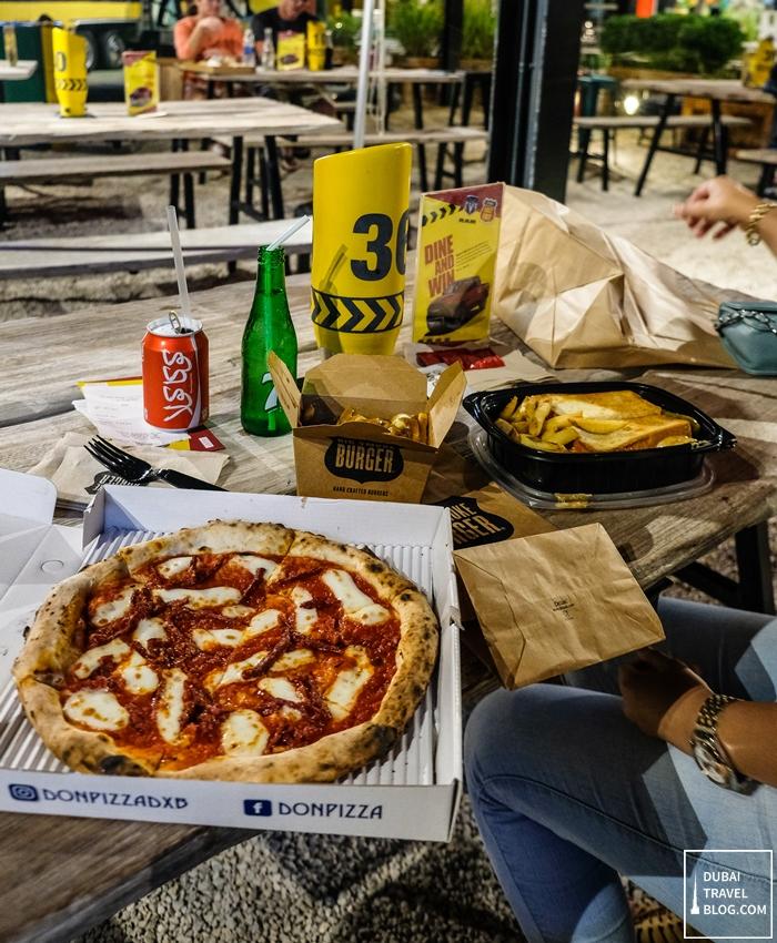 don pizza last exit dubai food truck