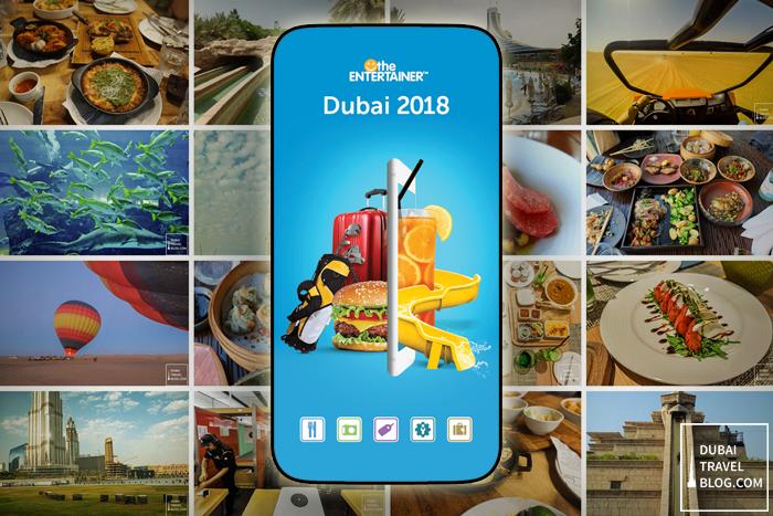 entertainer dubai 2018 app