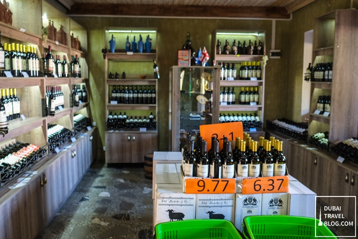 georgia wine shop in kakheti