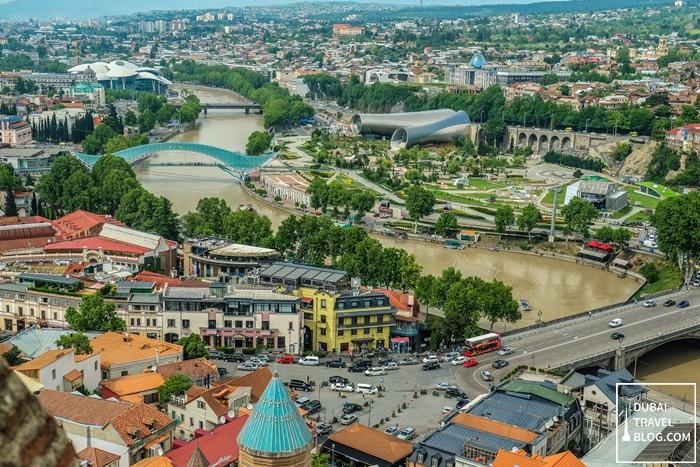 tbilisi view georgia