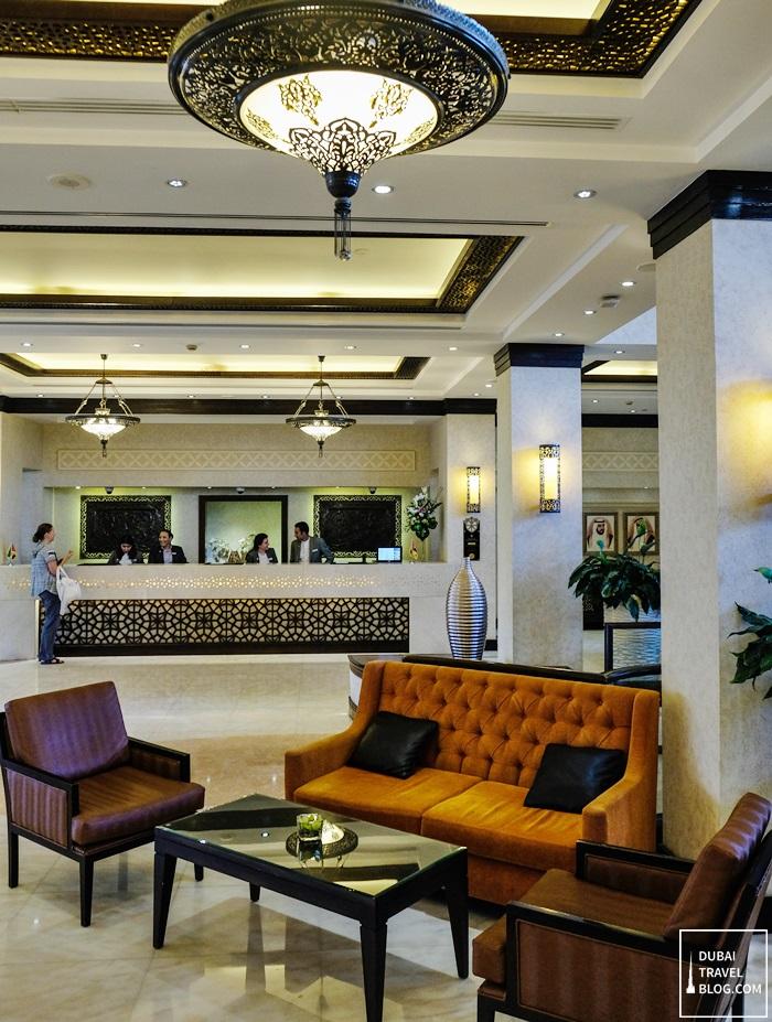 danat al ain resort lobby photo