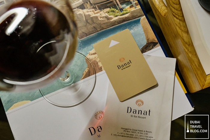 danat al ain resort room