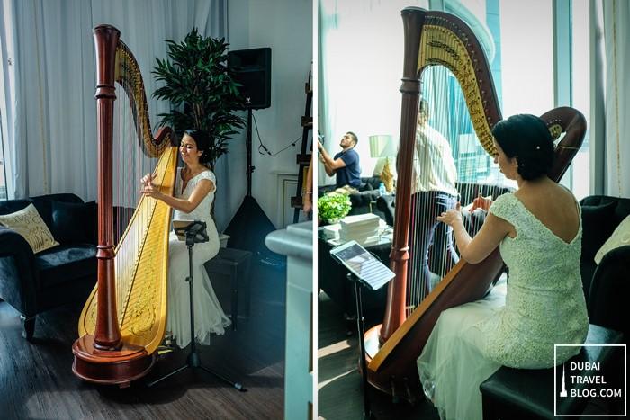 harpist dubai