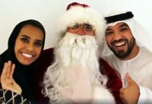 muslims celebrating christmas uae