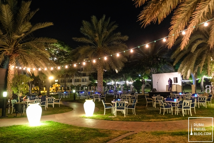 outdoor garden danat al ain resort
