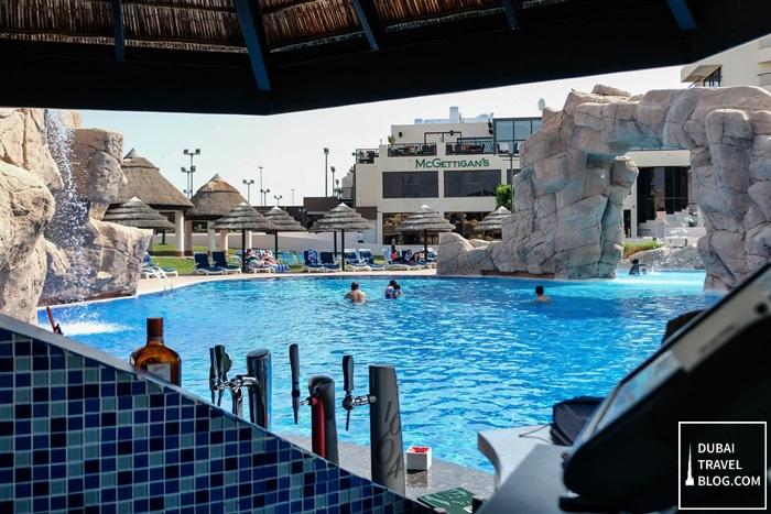 pool bar danat al ain resort