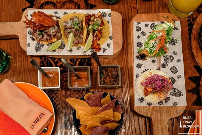 tacos in la tablita dubai