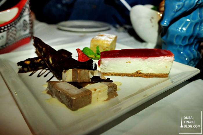 trader vics dessert sampler