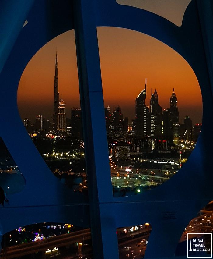dubai frame view skyline