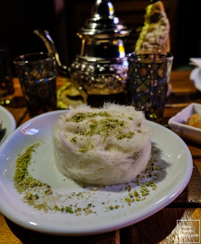 ila cafe arabic dessert uae