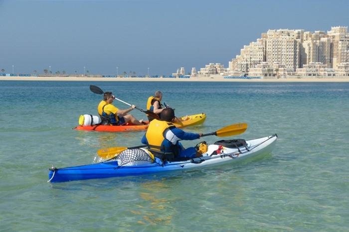 kayaking uae