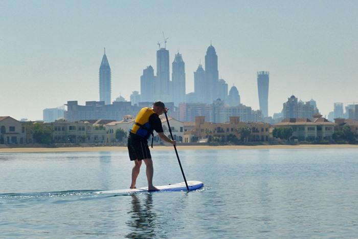 stand up paddleboard dubai