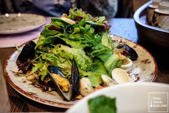 seafood salad al mashowa dubai