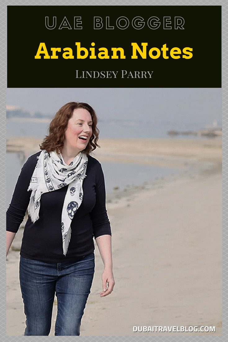 lindsey parry arabian notes blogger