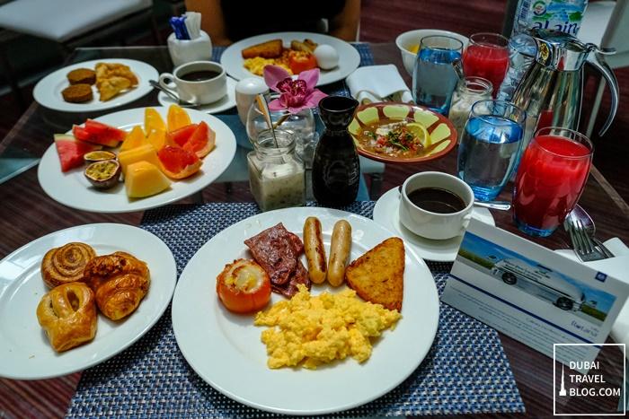 breakfast at moka cafe