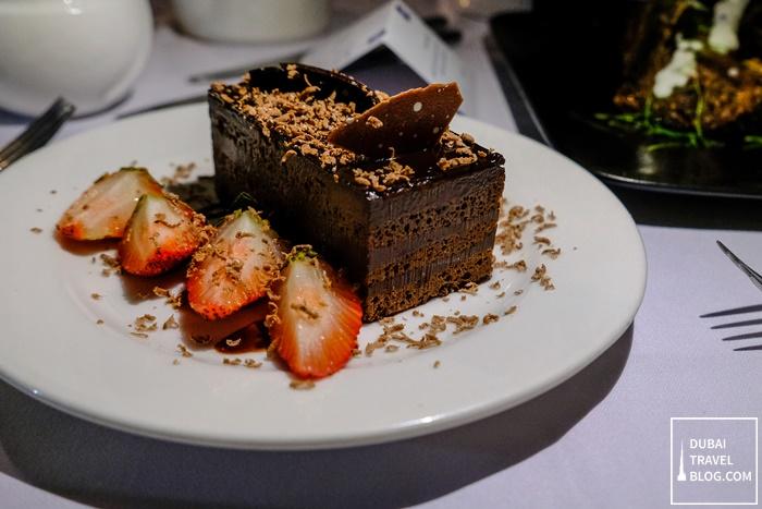 chocolate cake villa rotana