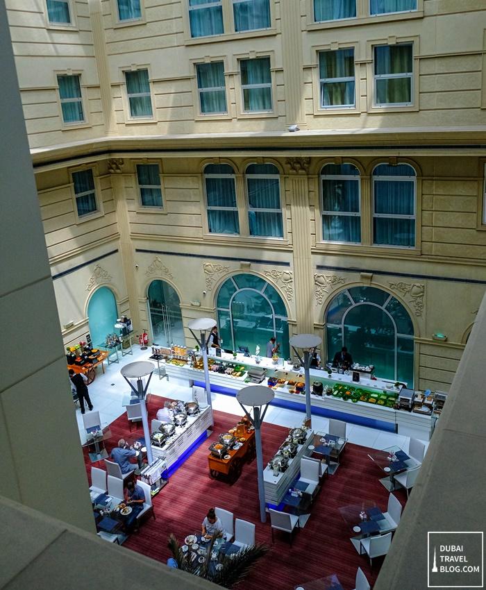 inside villa rotana hotel